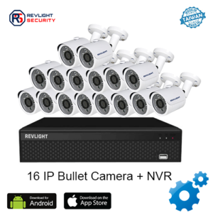 16 Bullet Camera NVR Security System - Revlight Security