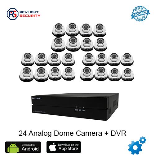 24 Dome Camera DVR Security System
