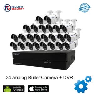 24 Bullet Camera DVR Security System