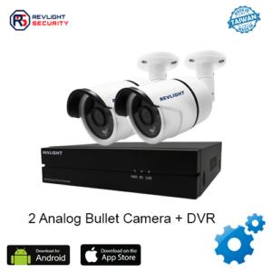 2 Camera DVR Security System