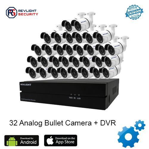 32 Bullet Camera DVR Security System