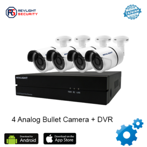 4 Camera DVR Security System