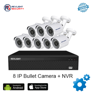 8 Bullet Camera NVR Security System - Revlight Security