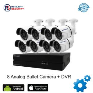 8 Camera DVR Security System