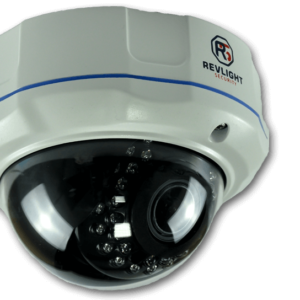 IP motorised zoom dome camera - Revlight Security
