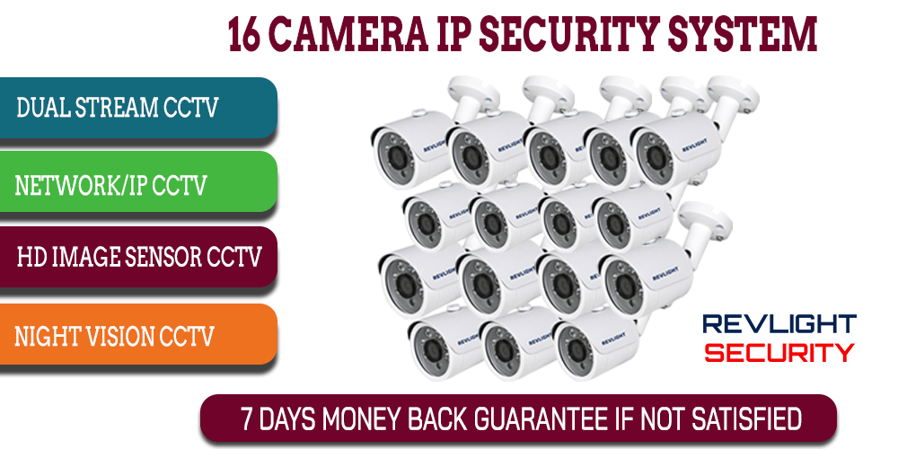 16 camera ip security