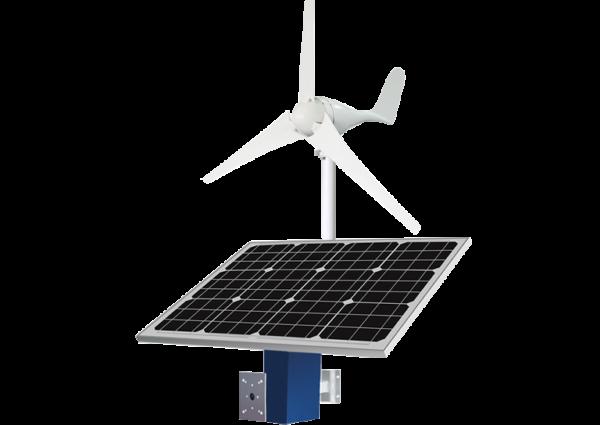 Solar-wind system - Revlight Security