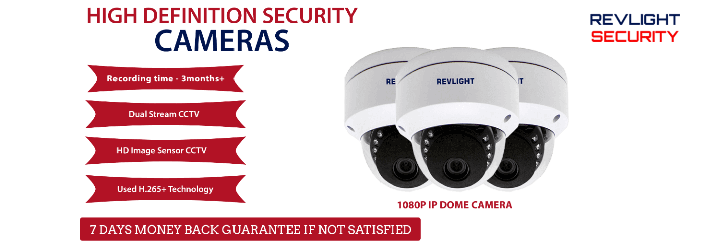 CCTV camera - Revlight Security